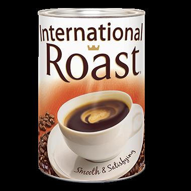 Coffee International Roast 1kg Tin Northland Cleaning
