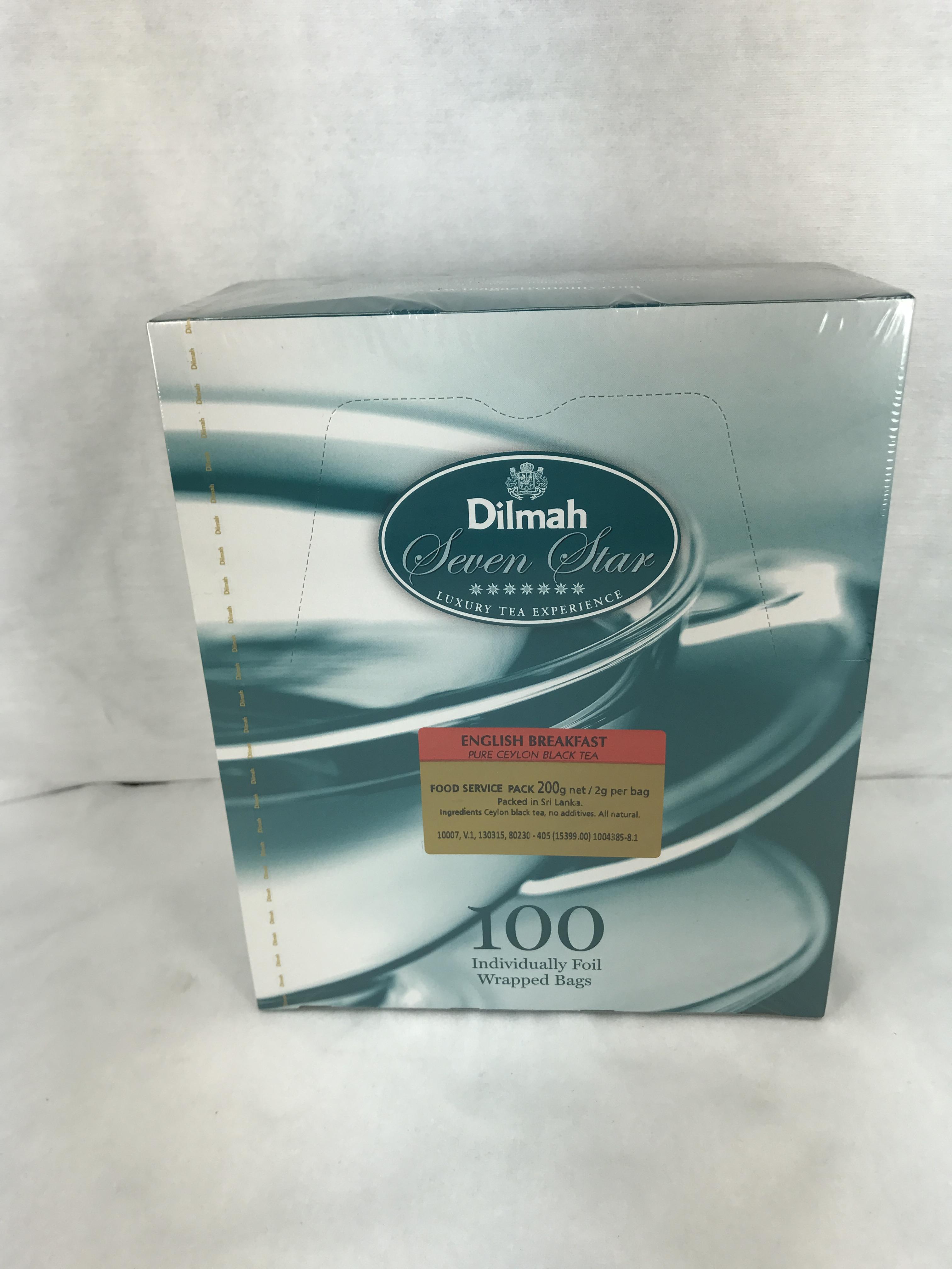 Tea Bags Dilmah Eng Breakfast Env 80230 X 100